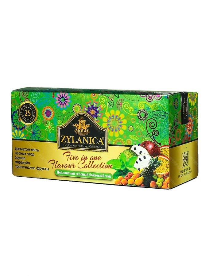 чай ассорти зеленый