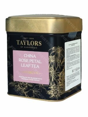 Чай Taylors of Harrogate China Rose Petal (Лепесток розы) 125 г.