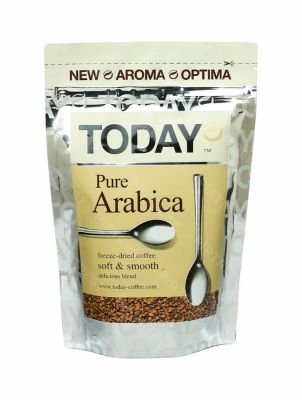 Кофе Today  Pure Arabica растворимый 75 г.
