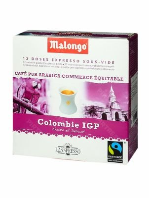 Кофе Malongo  Colombie Supremo в чалдах 12 шт.