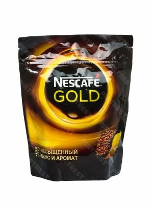 Кофе Nescafe Gold растворимый 75 г. (пакет)