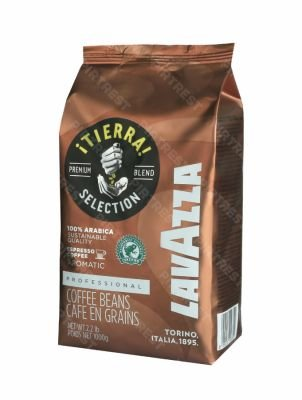 Кофе Lavazza Tierra Intenso в зернах 1 кг.