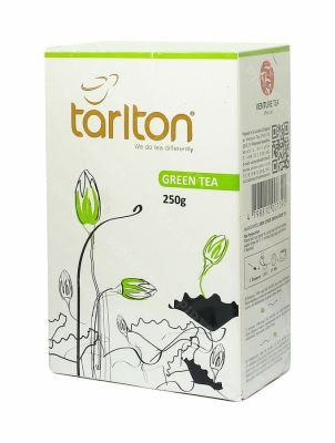Чай Tarlton Green Tea зеленый 250 г.