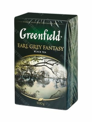 Чай Greenfield Earl Grey Fantasy черный 100 г.