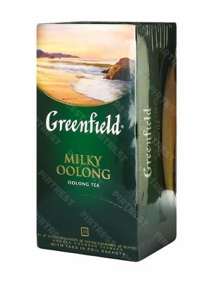 Чай Greenfield Milky Oolong  улун в пакетиках 25 шт.