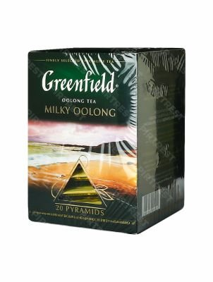 Чай Greenfield Milky Oolong улун в пирамидках 20 шт.